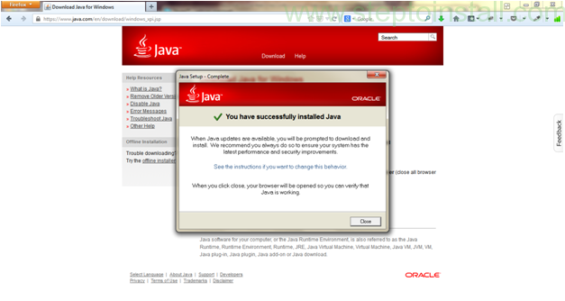 How to install java jdk on windows 7, 8 -  after install - steptoinstall