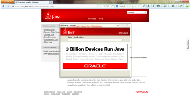 How to install java jdk on windows 7, 8 -  while installing - steptoinstall