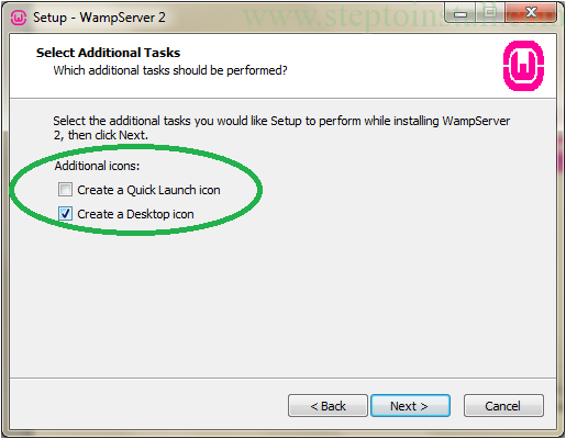 Installation of WAMP Server- how to install wamp server - Step to install