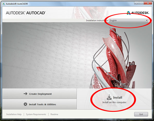 Step to Download and install Autodesk AutoCAD It 2015-step2