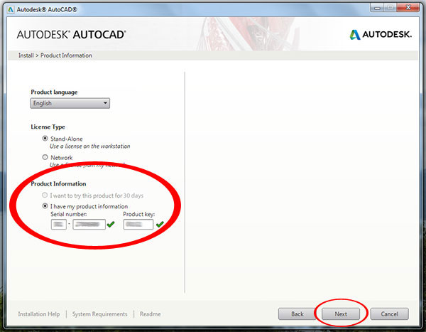 Step to Download and install Autodesk AutoCAD It 2015-step5