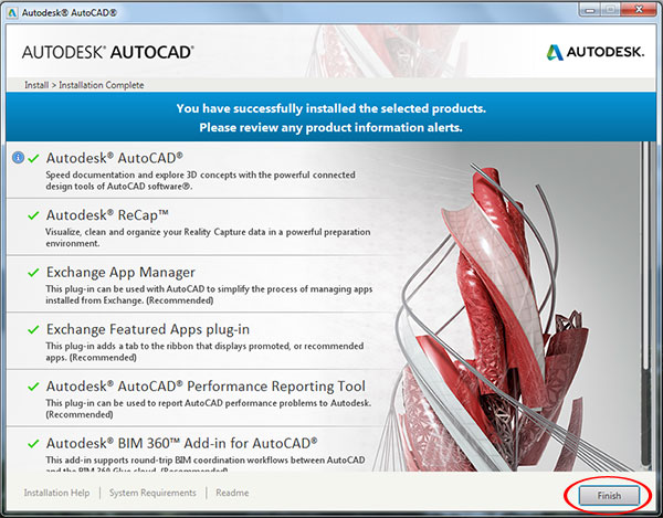 Step to Download and install Autodesk AutoCAD It 2015-step7