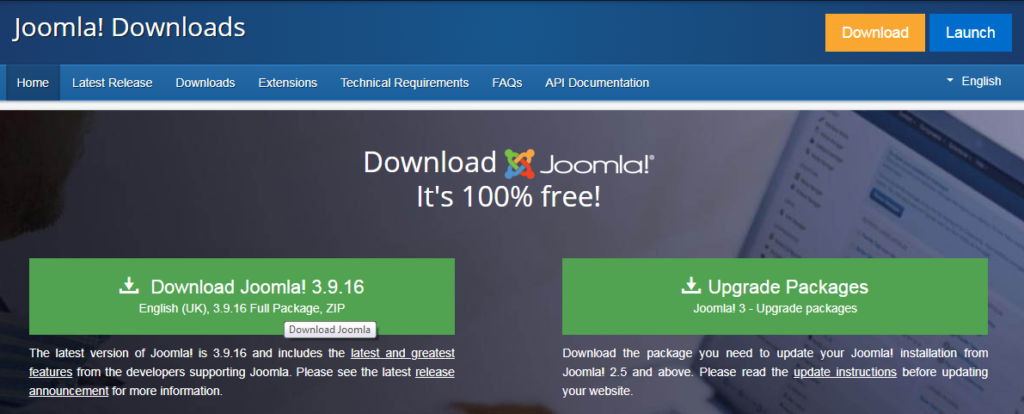 Step to Install JOOMLA in WAMP Localhost